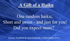 One Random Haiku