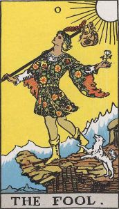 From the Rider-Waite Tarot deck
